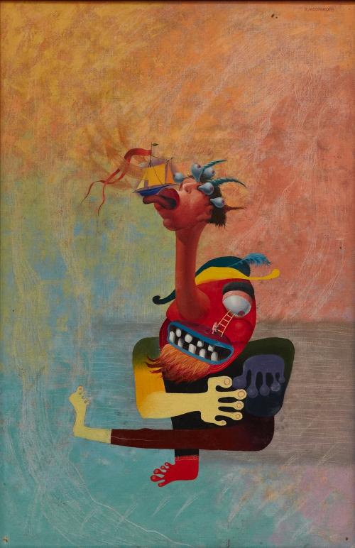 Painting by Reuben Mednikoff